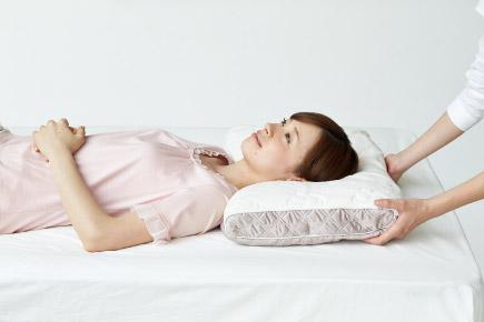 オーダー枕の定期メンテナンス
