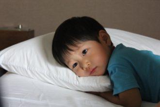 まさか、自分の子供が『睡眠不足?』